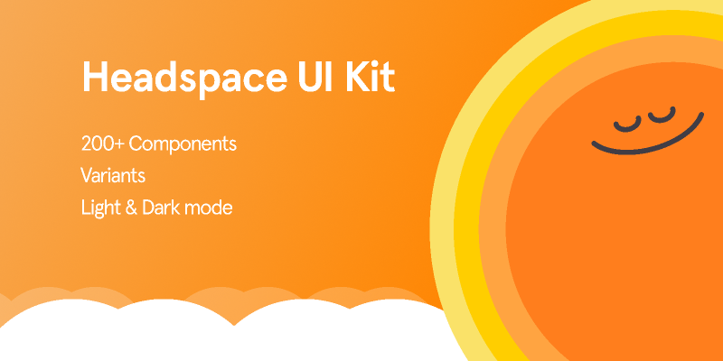 Headspace Design UI Kit (Community) from UIGarage