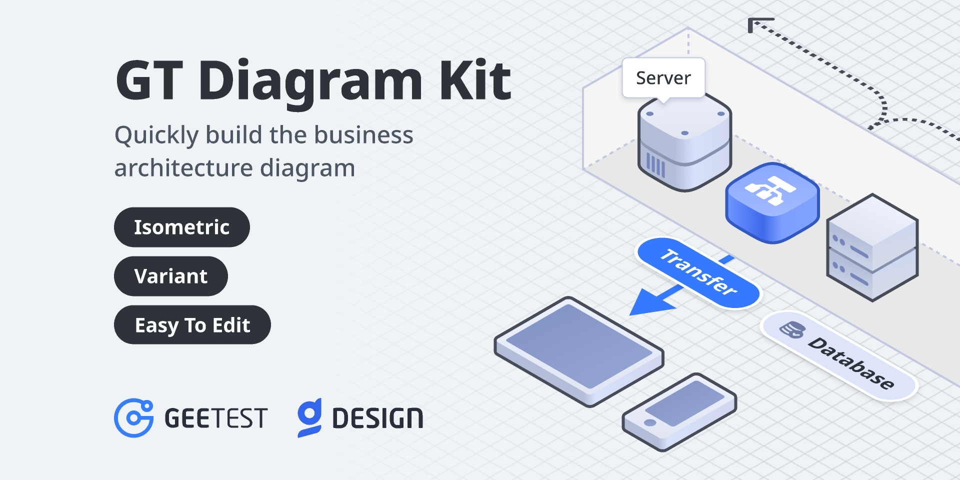 GT Diagram Kit-Isometric Style from UIGarage