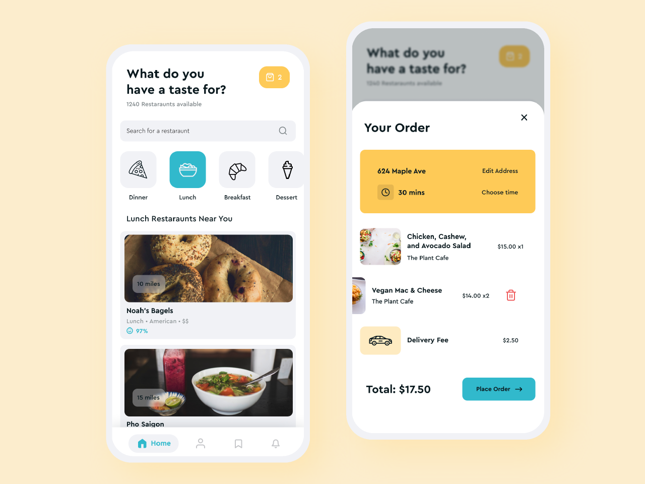 Food Delivery App image