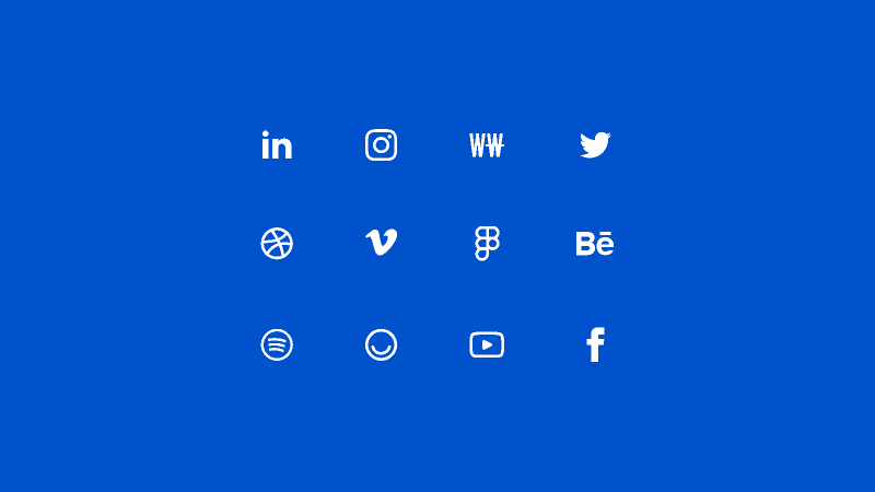 Social Icons by ORWHAT image