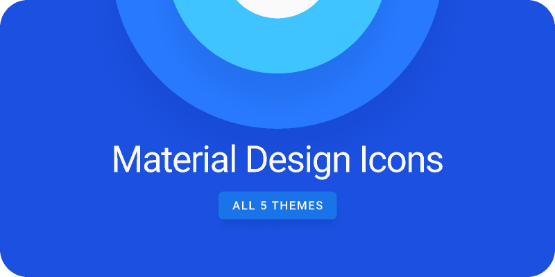 Material Design Icons from UIGarage